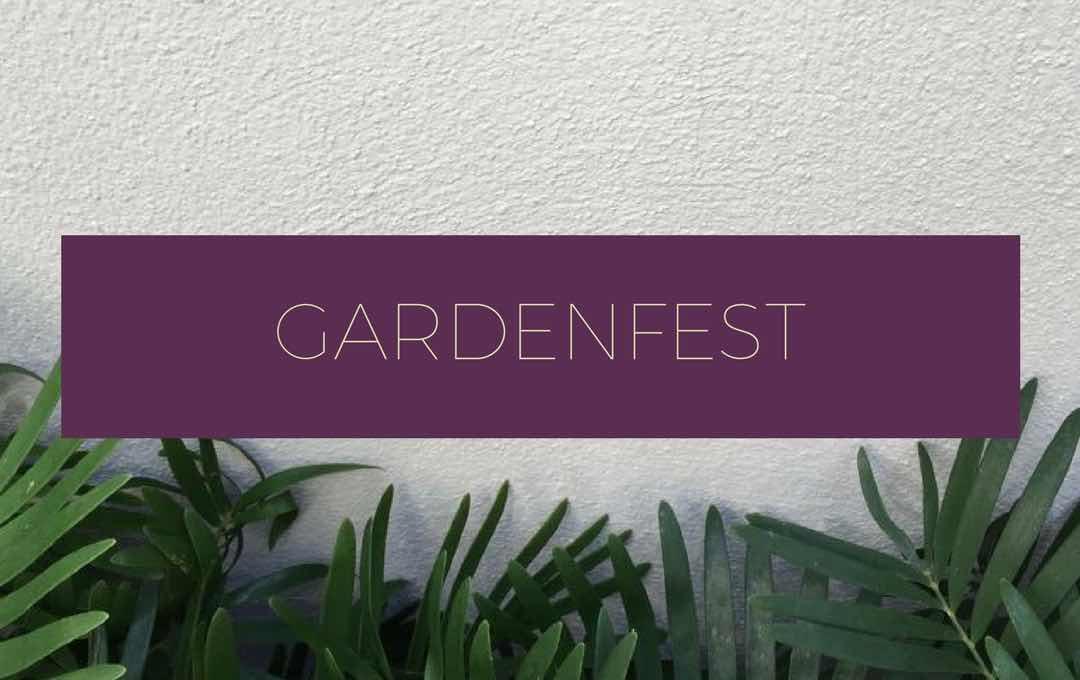 GardenFest logo